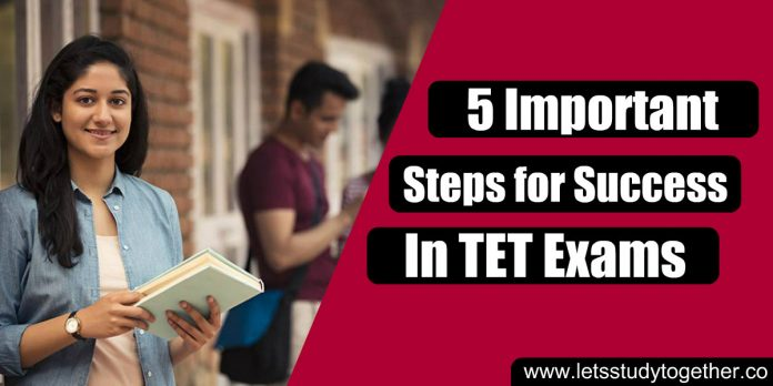 5 Important Steps for Success in TET Exams