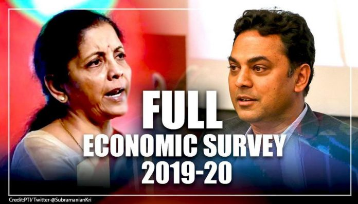 Key Highlights of Economic Survey 2019-20 : Download Info-graphics and PDF
