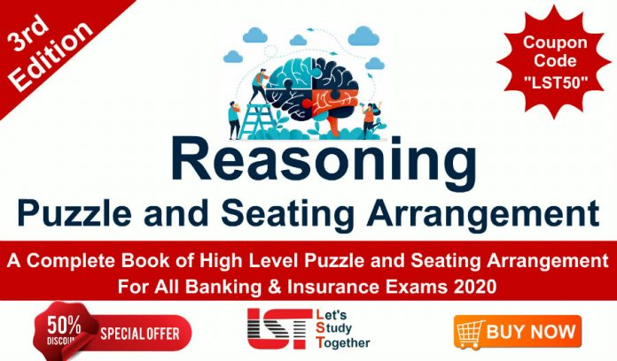 A Complete Book of High Level Puzzle and Seating Arrangement for Banking & Insurance Exams 2020 (3rd Edition)