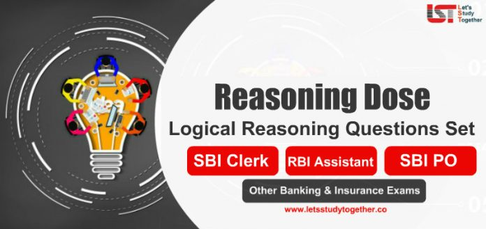 Logical Reasoning Questions Set for SBI Clerk Mains 2020