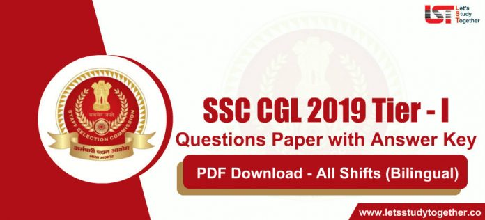 SSC CGL 2019-20 Tier - 1 Question Papers with Solutions (All Shifts Bilingual) - Download Free Now