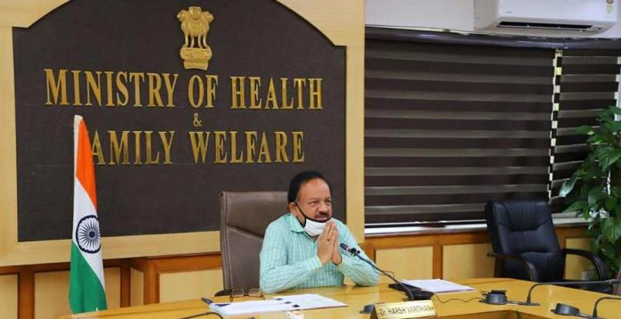 Dr Harsh Vardhan participates in NAM Health Ministers' meeting through Video Conferencing