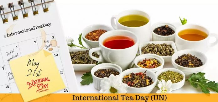 International Tea Day 2020 - 21st May 2020