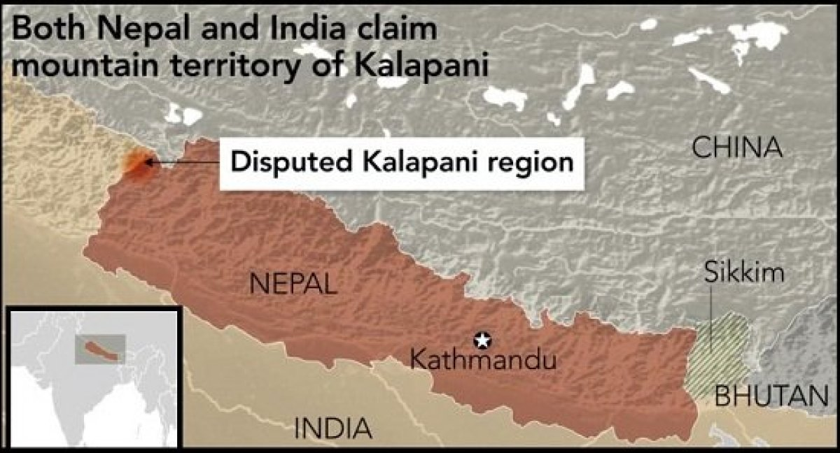 Nepal approves new political map including India's Kalapani ...