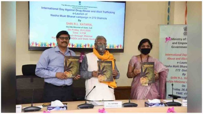 Nasha Mukt Bharat - Annual Action Plan (2020-21) for 272 Most Affected Districts E-Launched