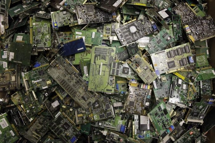 Record 53.6 million tonnes of E-waste Dumped Globally in 2019 -UN report