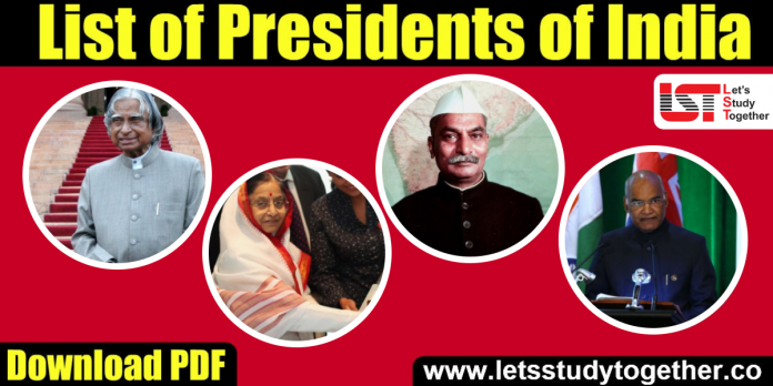 List of Presidents of India (1947-2020) - Download PDF