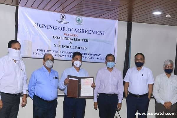 NLC India and Coal India to Form 50:50 JV to Develop Solar and Thermal Power Assets
