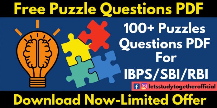 100+ Logical Puzzles Questions With Answers PDF