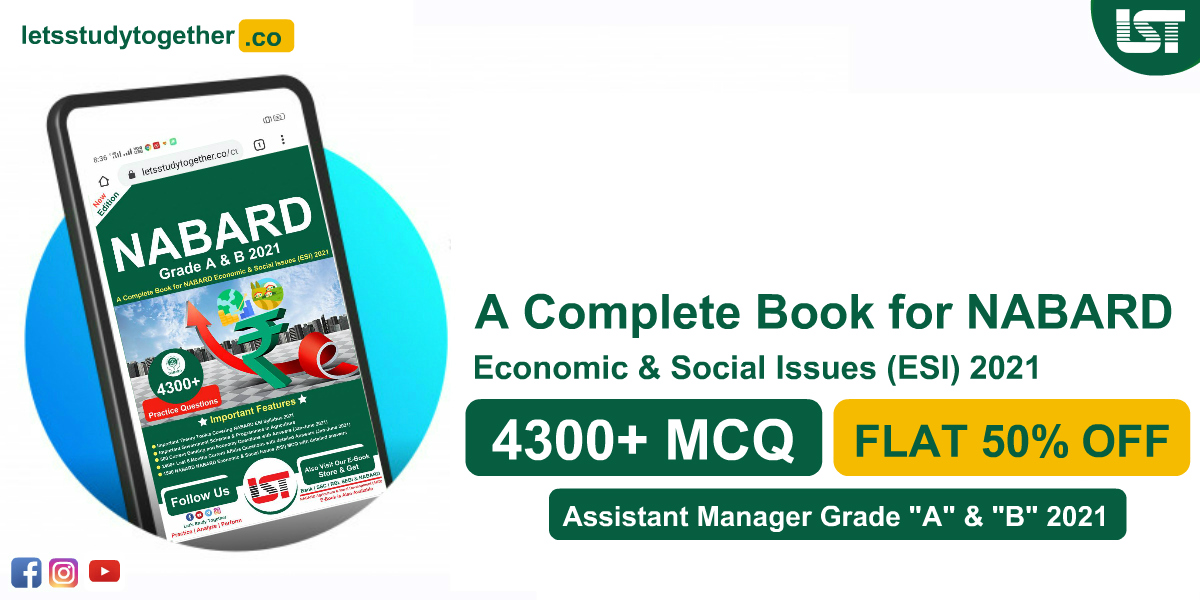 A Complete Book for NABARD Economic & Social Issues (ESI) 2021