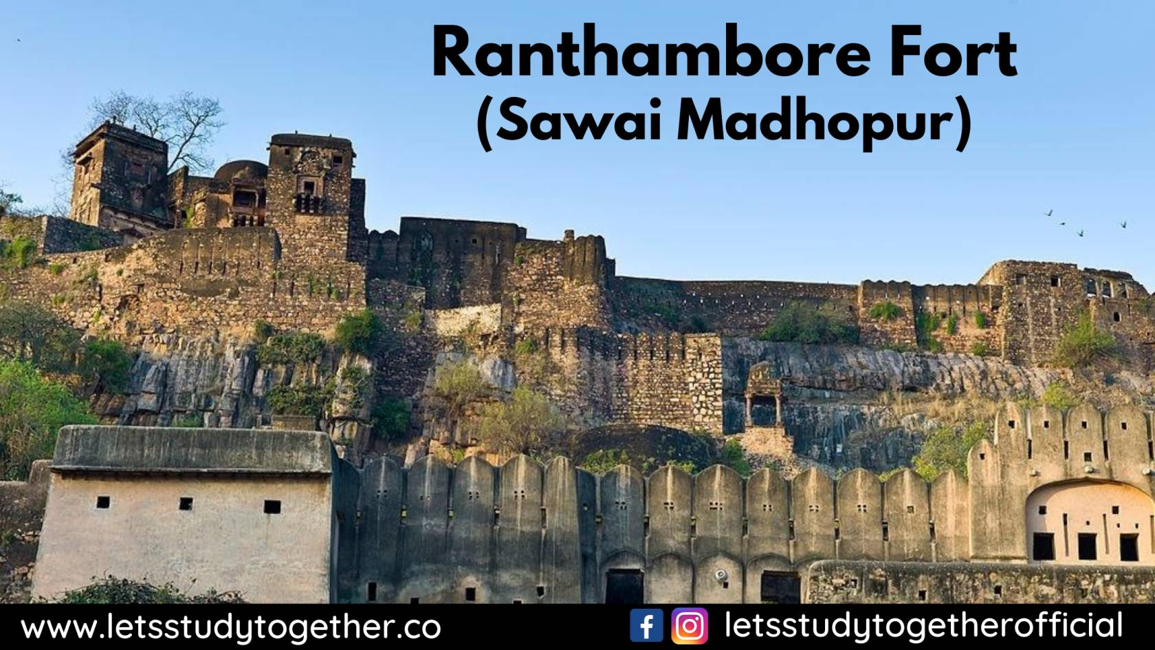 rajasthan tourist places ranthambore fort
