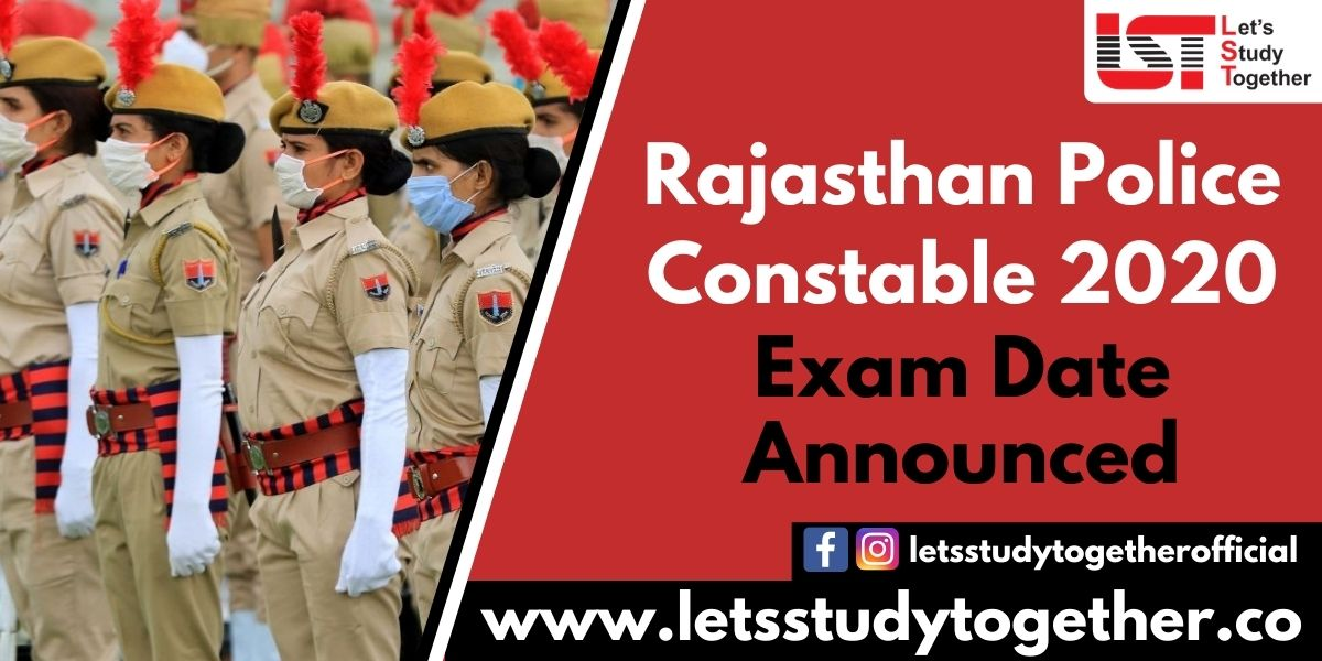 Rajasthan Police Constable Exam Date 2020