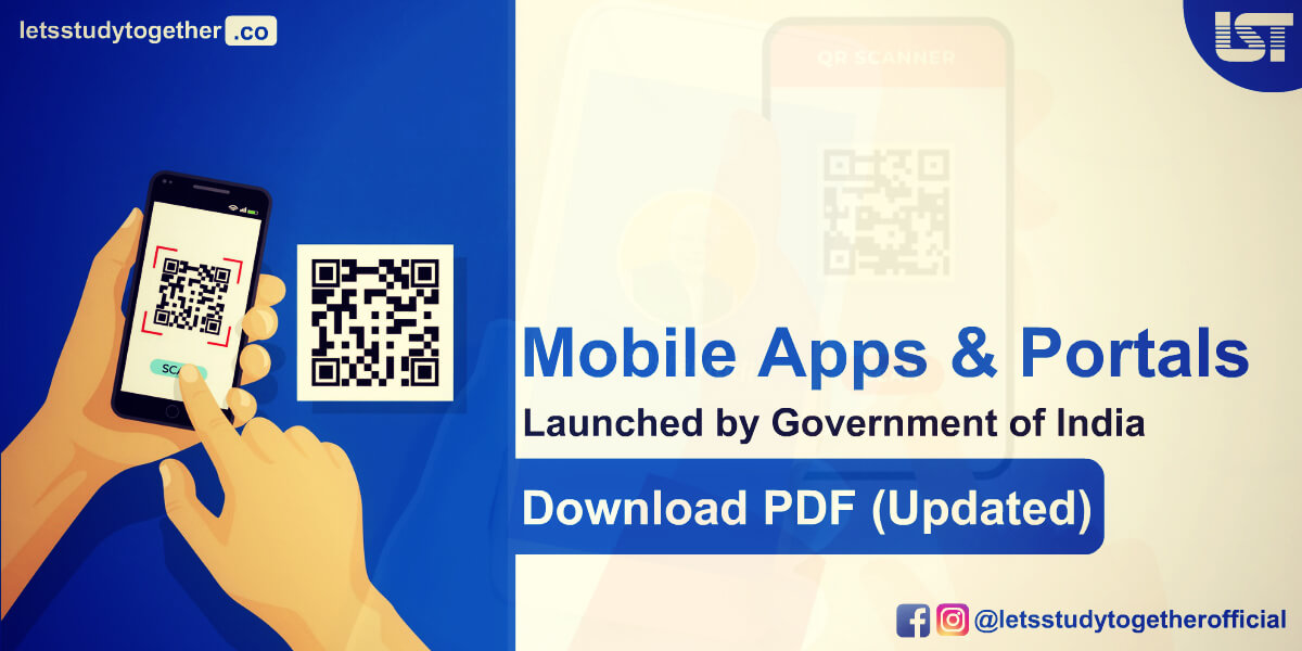 Mobile Apps & Portals Launched by Government of India in 2020