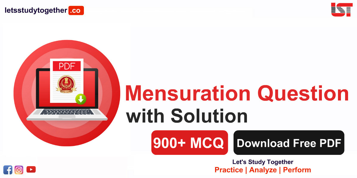 Mensuration Question with Solution Free PDF