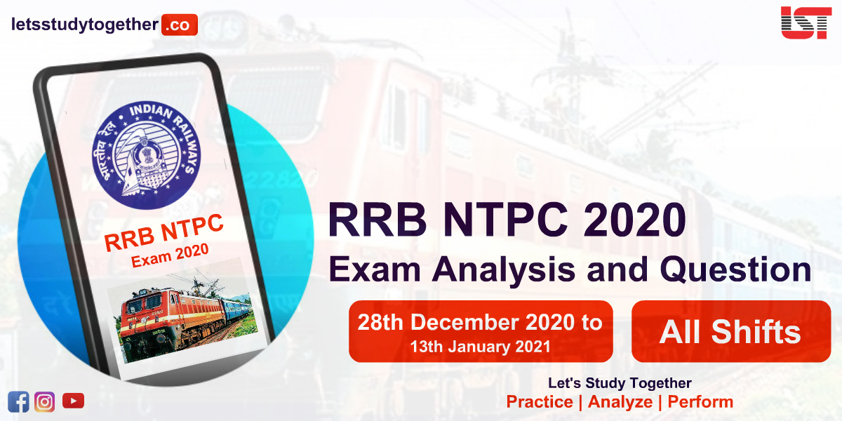 RRB NTPC Exam Analysis and Question Asked All Shifts