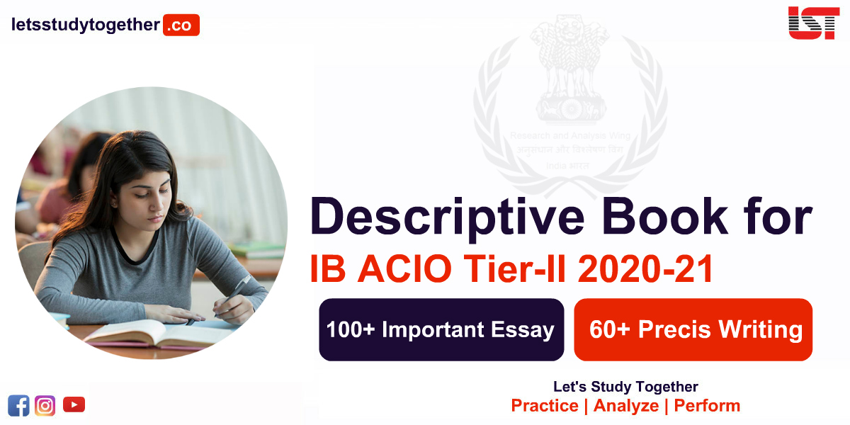 Descriptive Book for Intelligence Bureau (IB ACIO) 2020