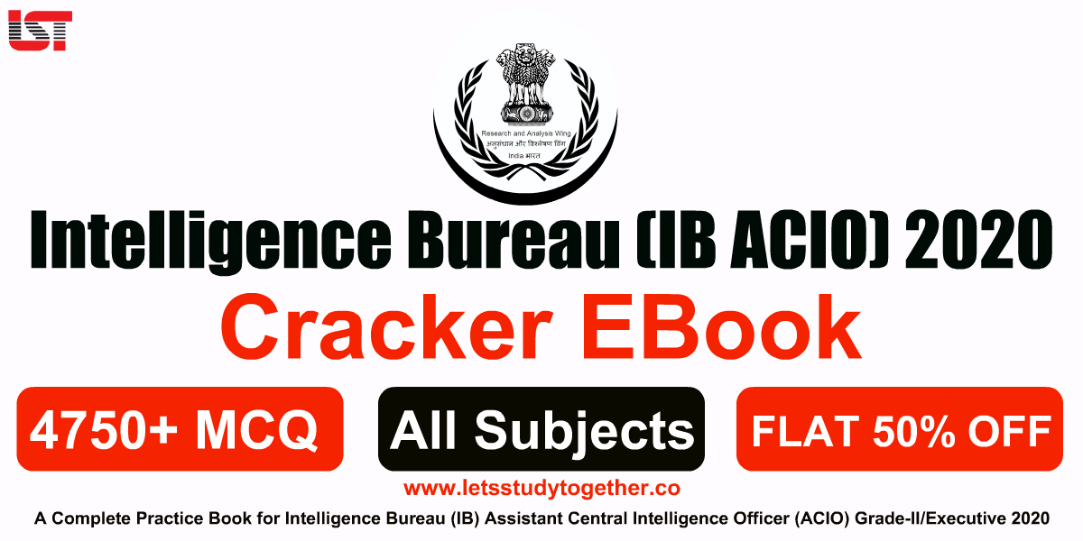 A Complete Book for Intelligence Bureau (IB ACIO) 2020