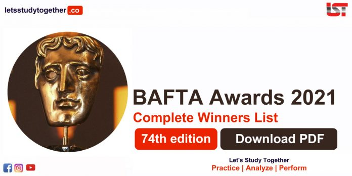 Complete winners list of BAFTA Awards 2021