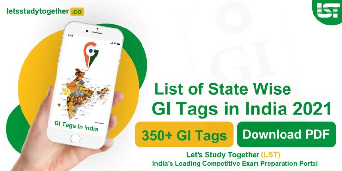 List of State Wise GI Tags in India 2021 (Updated)