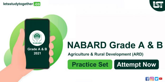 Expected ARD Questions for NABARD Grade-A Exam 2021